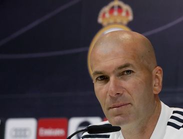"""Zidane: """"Habrá cambios, pero muchos se van a quedar"""""""