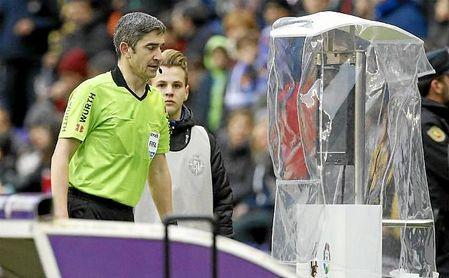 Undiano Mallenco arbitrará el Real Madrid-Betis.