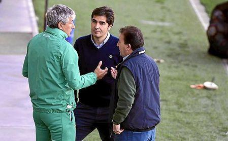 Setién se va agradecido con Haro y Catalán.