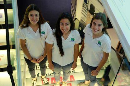 Las jugadoras del Club de Campo defienden el estilo de su histórico triplete