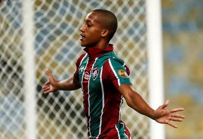 4-1. Triplete de Joao Pedro humilla al Atlético Nacional y encarrila al Flu