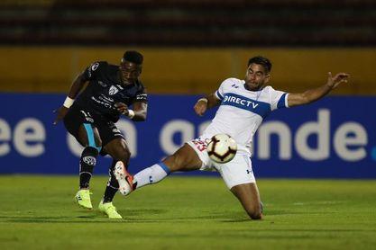 5-0. Independiente vapulea a Universidad Católica y enfila su clasificación