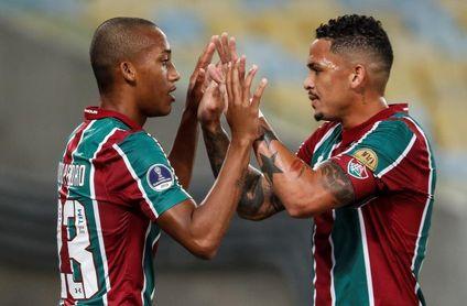 Fluminense, Cristal, Independiente del Valle y la UC, cerca de octavos