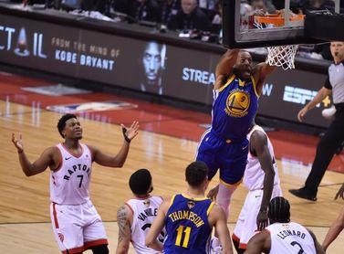 118-109: Gasol y Siakam aupan a los Raptors a su primera victoria en la final