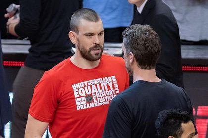 Los Gasol, Pau y Marc, los hermanos que han hecho historia en la NBA