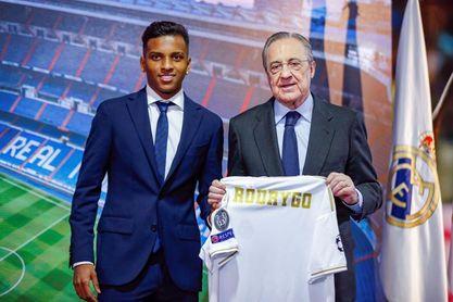 """Rodrygo: """"Cumplo el sueño de todos los niños de Brasil"""""""