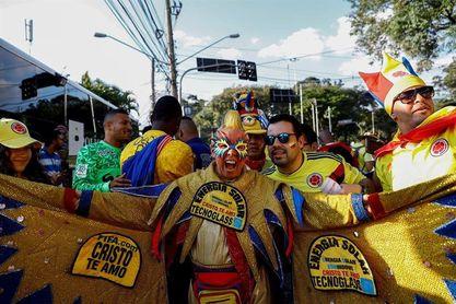 'El Cole' aterriza en Sao Paulo y espera volar hasta la final de Copa América