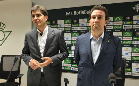 Haro y Catalán, en la rueda de prensa de ayer.