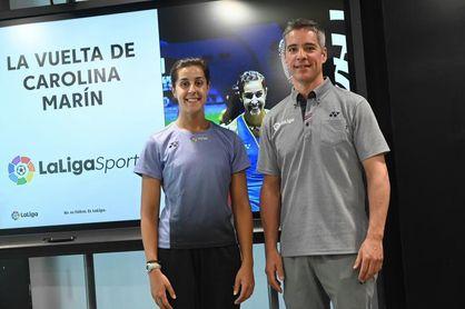 """Carolina Marín: """"Tenemos en mente el Mundial, pero no sé si llegaré"""""""