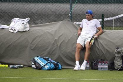 Nadal arranca con derrota ante Cilic su preparación para Wimbledon