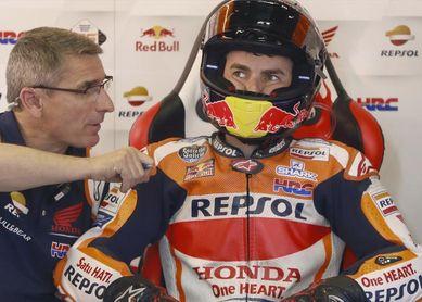 Viñales coloca la Yamaha entre los favoritos, Lorenzo se lesiona