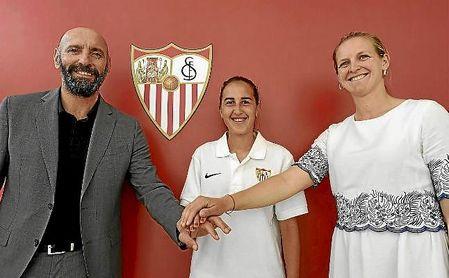 Virgy García regresa al Sevilla tras jugar en el Betis los dos últimos cursos.