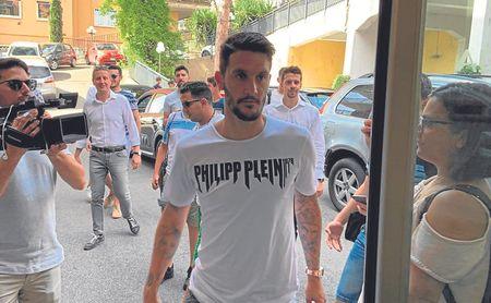Luis Alberto trata su futuro con la Lazio