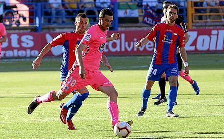 Aburjania jugó cedido en el CD Lugo durante la 18/19.