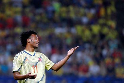 """Cuadrado cree que sería """"buenísimo"""" para James jugar en el fútbol italiano"""