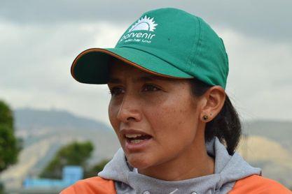 Angie Orjuela quiere ganar maratón en casa de las favoritas Melchor y Tejeda