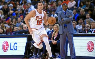 Paul Zipser, con los Chicago Bulls.