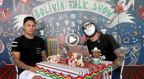 Arana, en 'Bolivia talk show'.