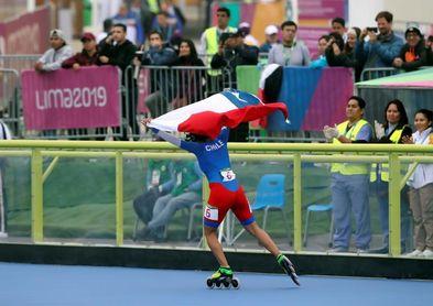 La chilena María José Moya se impuso en 300 metros contrarreloj del patinaje femenino