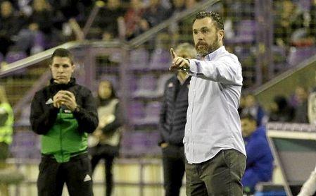 Sergio González, en el Valladolid-Betis de la pasada temporada.