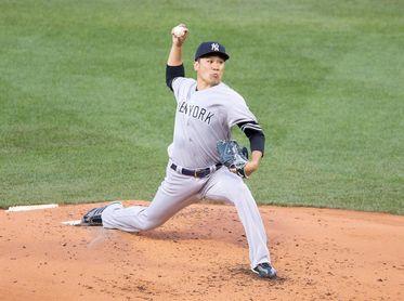 1-0. Tanaka y Chapman se combinan en la victoria de los Yanquis sobre los Azulejos