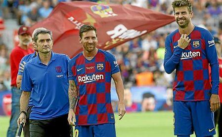 Messi ha marcado 23 goles al Betis en los 21 partidos que se ha enfrentado a los verdiblancos.