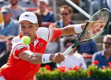 Bautista Agut se exhibe ante Kecmanovic y jugará los cuartos contra Gasquet en el Masters 1.000 de Cincinnati.