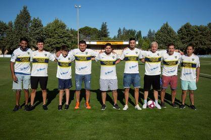La letra de Fernández Blanco une a Gardel y Boca Juniors en Cuenca de Campos