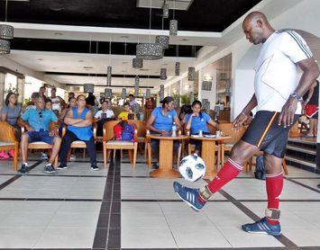'El Dominador' cubano del balón, Erick Hernández, establece nuevo récord