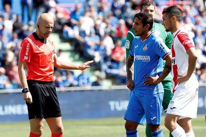 González Fuertes en el Real Madrid-Valladolid de la segunda jornada