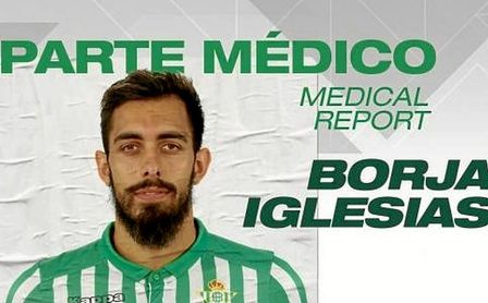 Borja Iglesias no sufre lesión ósea