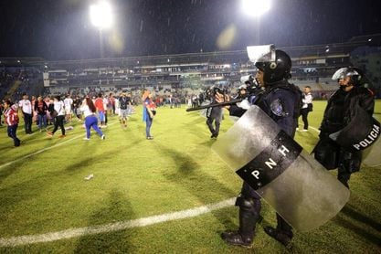 El Gobierno creará una comisión para definir la seguridad en los estadios hondureños