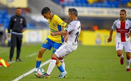 A sus 16 años, Pedri ya jugó la pasada semana contra la SD Huesca.