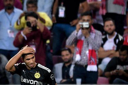 Achraf Akimi y Alcácer salvan el primer obstáculo del Borussia Dortmund