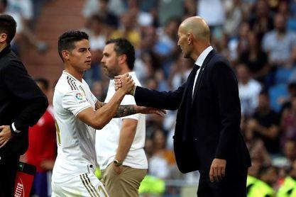 El Bernabéu cambia de actitud con Bale y se entusiasma con James