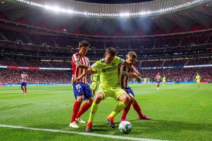 Savic, Thomas y Hermoso, en el once atlético; Roque Mesa debuta en el Leganés