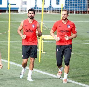 Diego Costa apura su recuperación