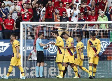 2-2. Ansu Fati despierta al Barça, que choca con la tenacidad de Osasuna