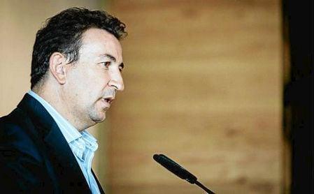 José Miguel López Catalán, en una presentación este verano.