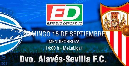 Así te contamos en directo el Alavés-Sevilla F.C. (0-1)
