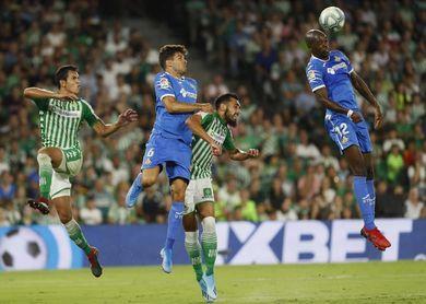 1-1. El Betis salva un punto y evita la primera victoria del Getafe