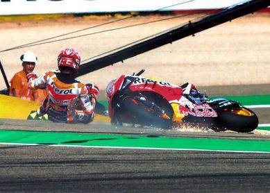 Márquez lidera con autoridad, las Yamaha se perfilan como sus rivales