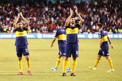Boca derrotó a San Lorenzo y continúa como único líder de la Superliga