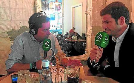 Ramón Alarcón, en su entrevista para La Jugada de Sevilla.