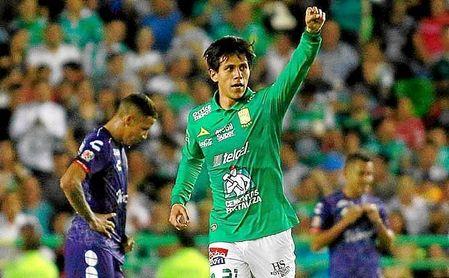 Juan José Macías (20) promedia un gol cada dos partidos.