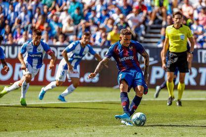 1-2. El Levante deja tocado al Leganés y a Pellegrino