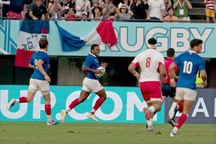 23-21. Francia logra una trabajada victoria ante Tonga y estará en cuartos