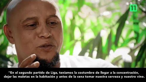 Roberto Carlos explica las licencias de los galácticos y cómo se 'cargaban' a los entrenadores