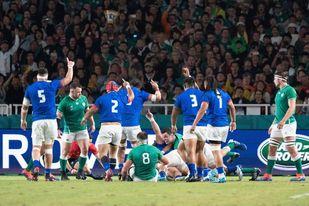 47-5. Irlanda vence fácilmente a Samoa y lidera provisionalmente su grupo