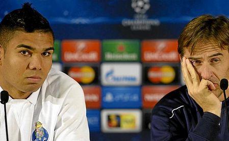 Lopetegui y Casemiro ha coincido tanto en el Porto como en el Real Madrid.